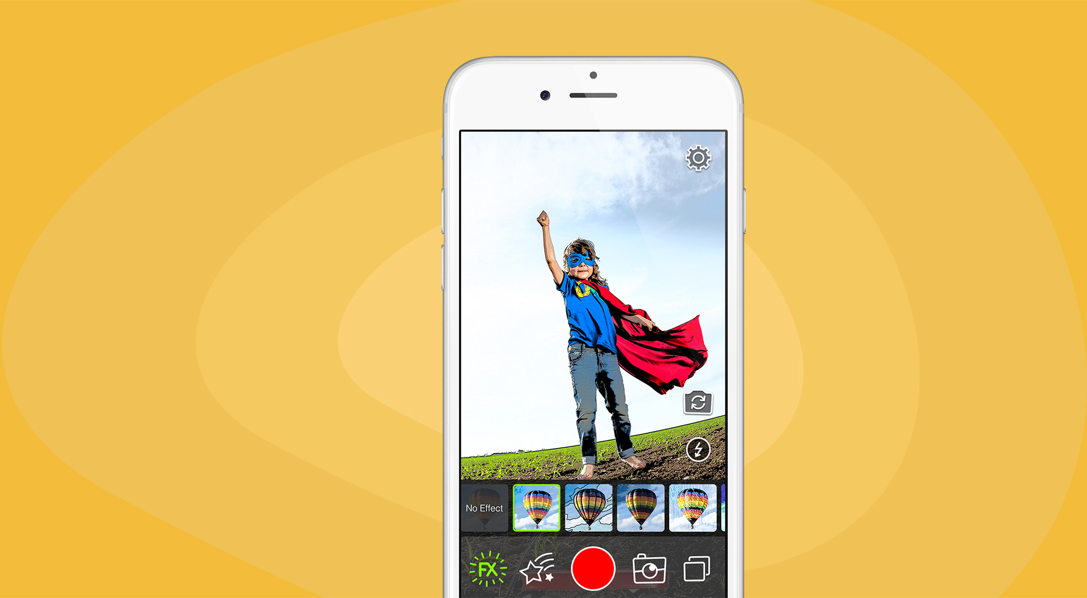 Cartoonatic - make cartoon style videos and photos on iPhone