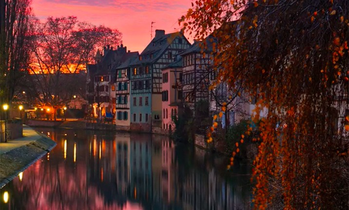 Workflow - Strasbourg sunset