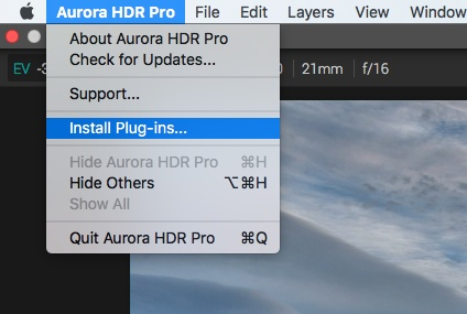Aurora HDR  jp tutorials how to install aurora hdr