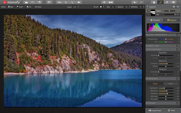 Photo Editing Software for Mac by Macphun   getstarted intensify layers intensify