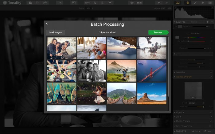 Photo Editing Software for Mac by Skylum https:  skylum.com getstarted tonality tonality batch processing