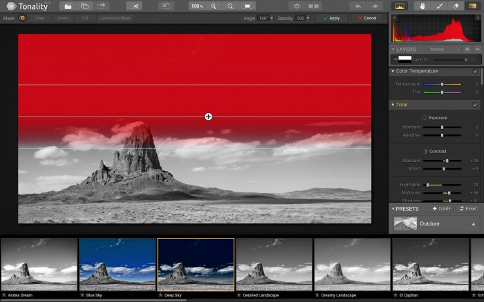 Photo Editing Software for Mac by Skylum https:  skylum.com getstarted tonality layers masking tonality