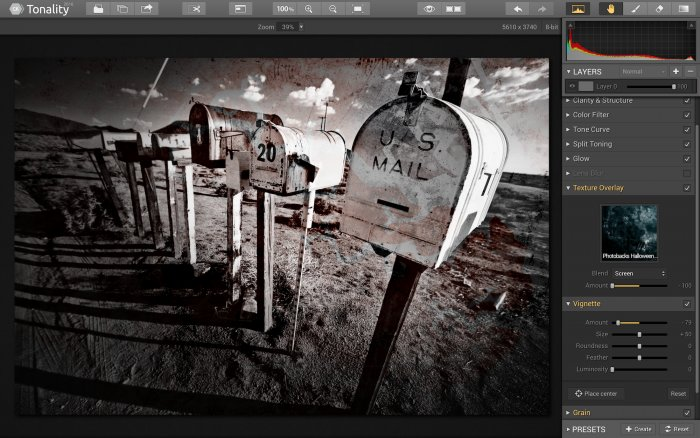 Photo Editing Software for Mac by Skylum https:  skylum.com getstarted tonality textures black and white