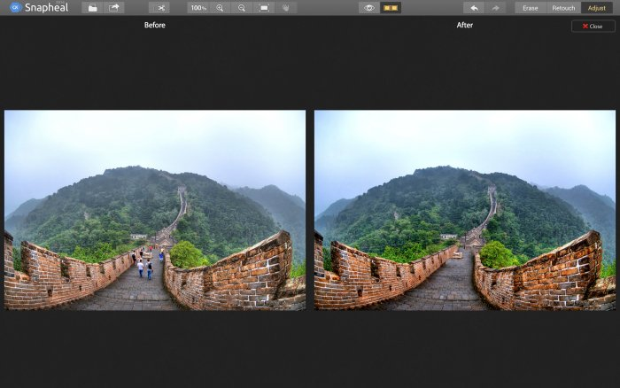 Photo Editing Software for Mac by Macphun   it getstarted snapheal snapheal overview