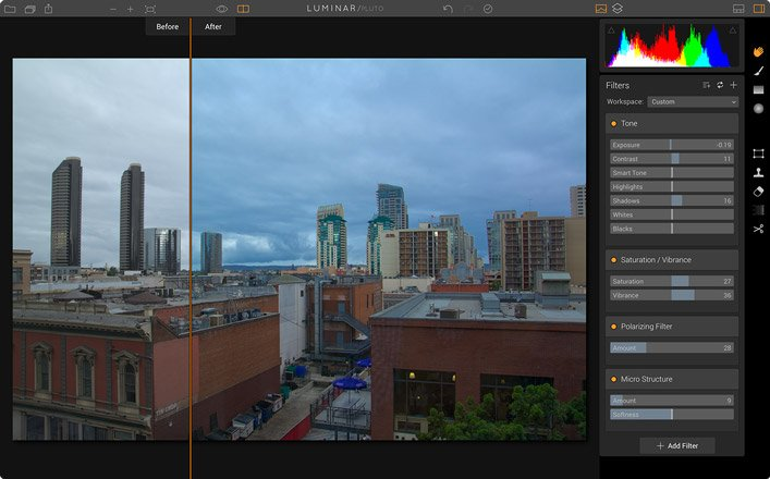 Photo Editing Software for Mac by Macphun de luminar raw converter