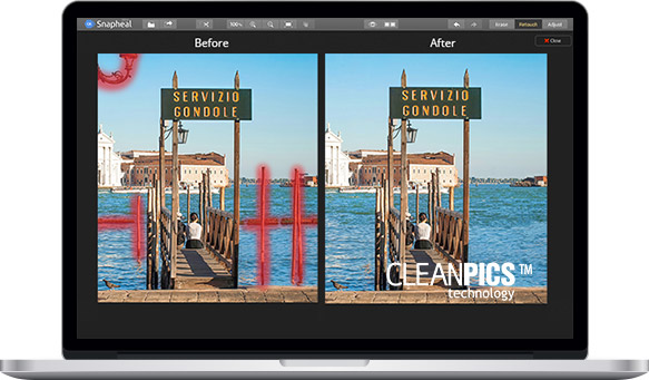 Photo Editing Software for Mac by Macphun   snapheal
