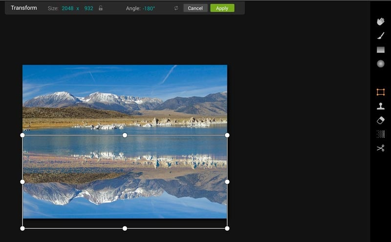 How to Mirror an Image Image2