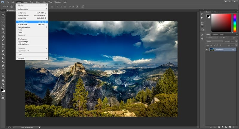 How to Enlarge a Picture Image4