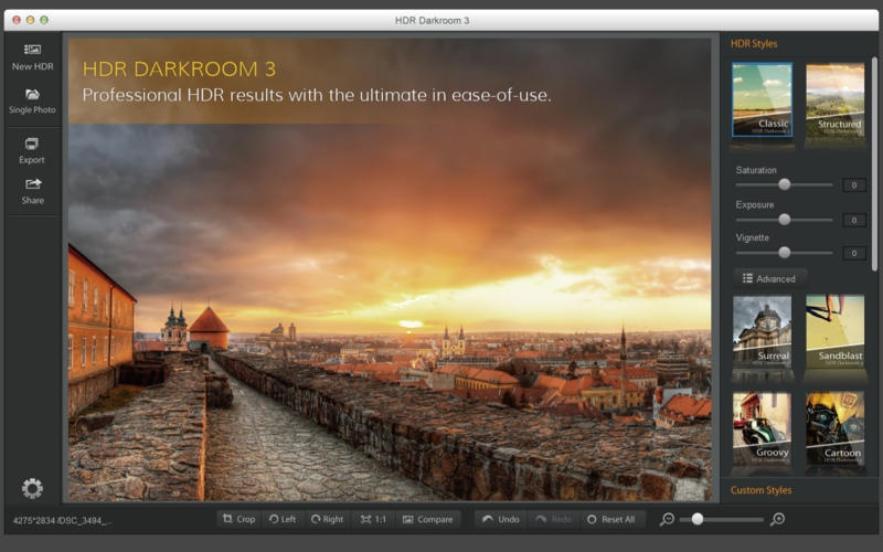 HDR Darkroom 3 screenshot - Alternatives