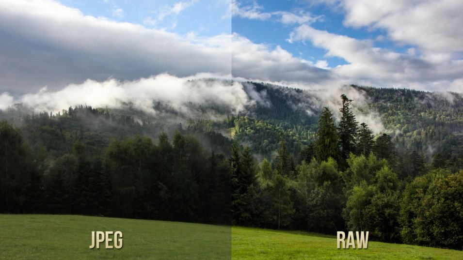 Take raw photos for HDR