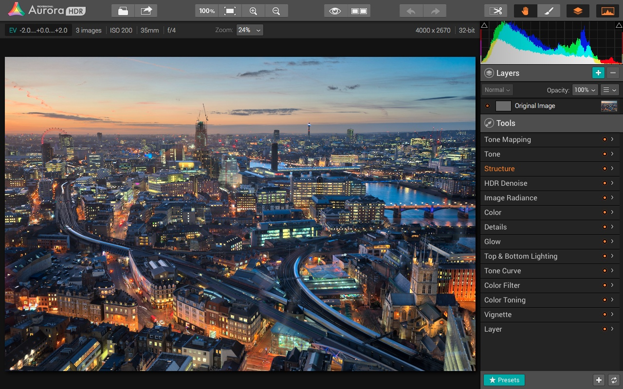 Aurora HDR Pro screenshot - Trey Ratcliff
