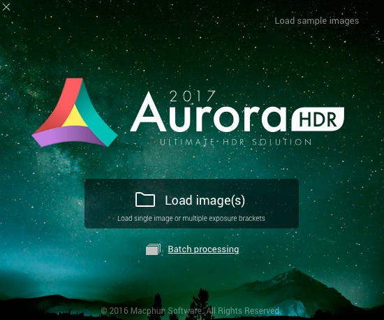Aurora HDR 2017 Launch window