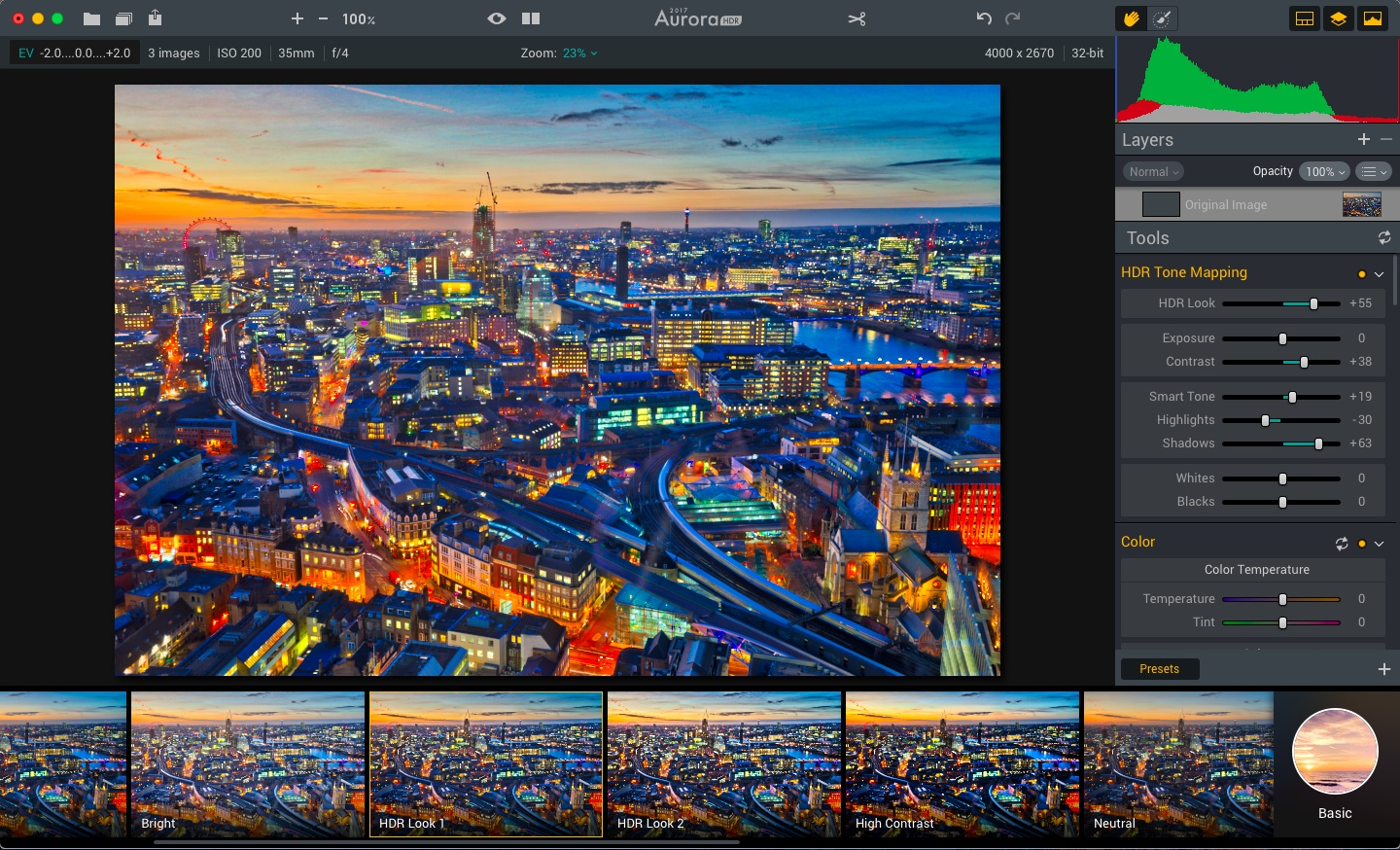 The best and most advanced HDR software